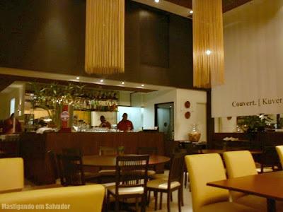 Restaurante Couvert: Ambiente da loja do Salvador Shopping