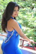 Manali Rathod photos in blue-thumbnail-15