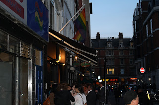 Barrio Gay Soho de Londres