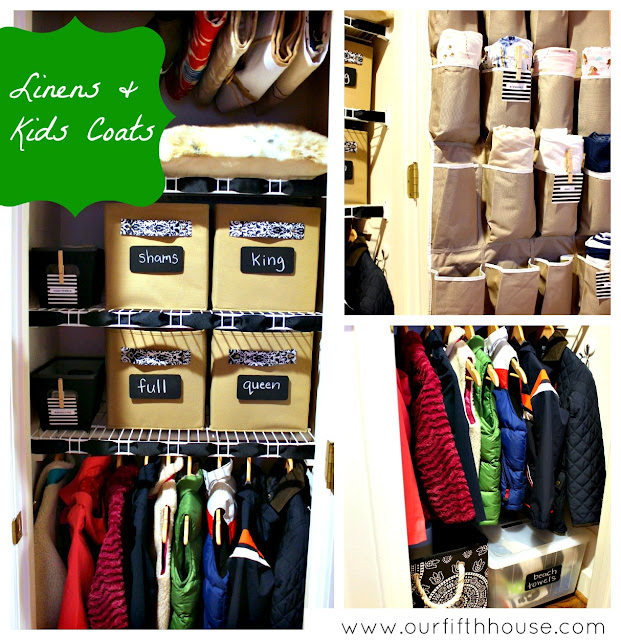 linen/ kids coat closet