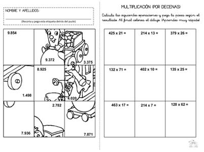 Recursos profes tagore fichas de la multiplicaci n for Aprender a cocinar desde cero pdf