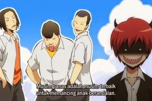 Ansatsu Kyoushitsu Episode 12 Subtitle Indonesia