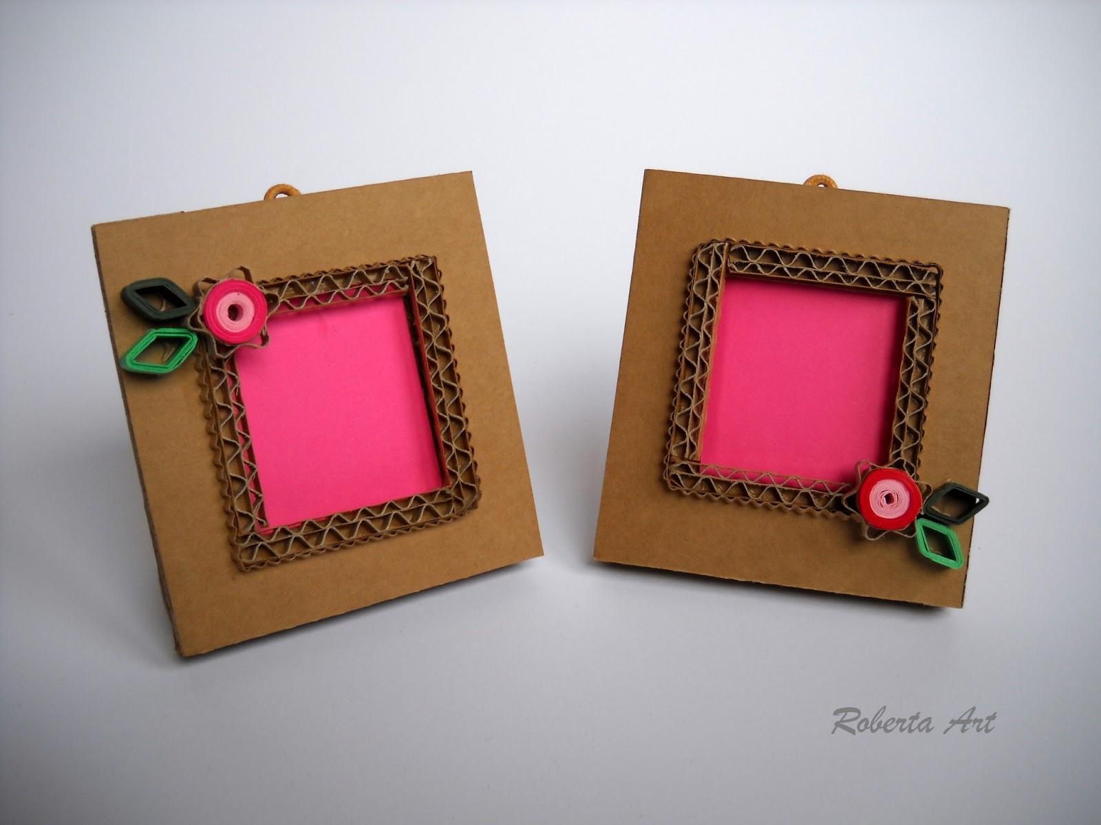 Roberta lazzarato portafoto 8x8 di cartone - Porta orecchini a libro ...