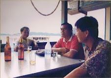 With Lao Intellectual @Nam Ngum Lake
