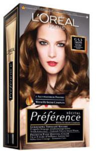 farbydo włosów: L'Oreal Preference - Jasny złocisty brąz