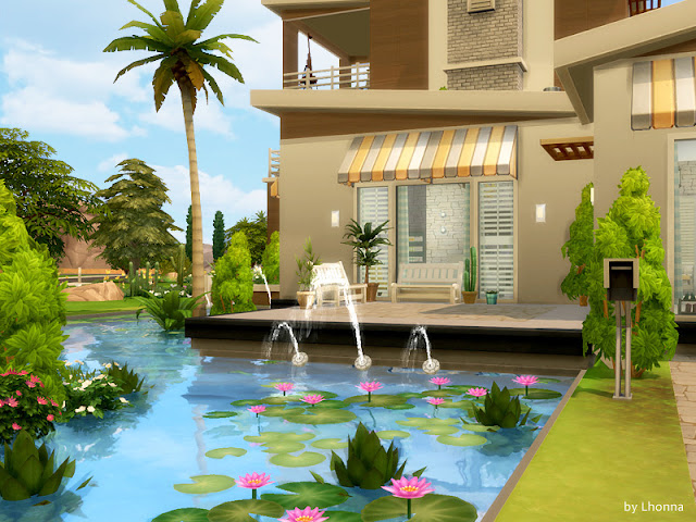 Sims 4 Pond