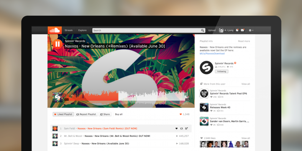 SoundCloud Redesigned Its Web