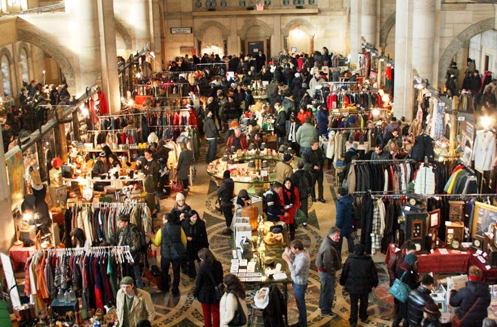 Brooklyn Flea em Nova York