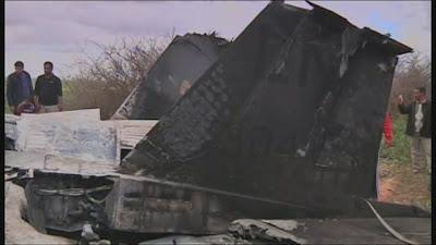 avion derribado de los estados unidos en libia