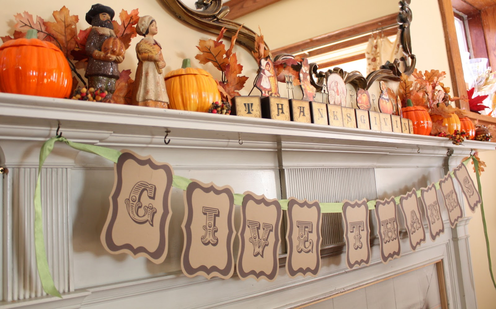 Anyone can decorate thanksgiving table decorating ideas for Thanksgiving home decorations