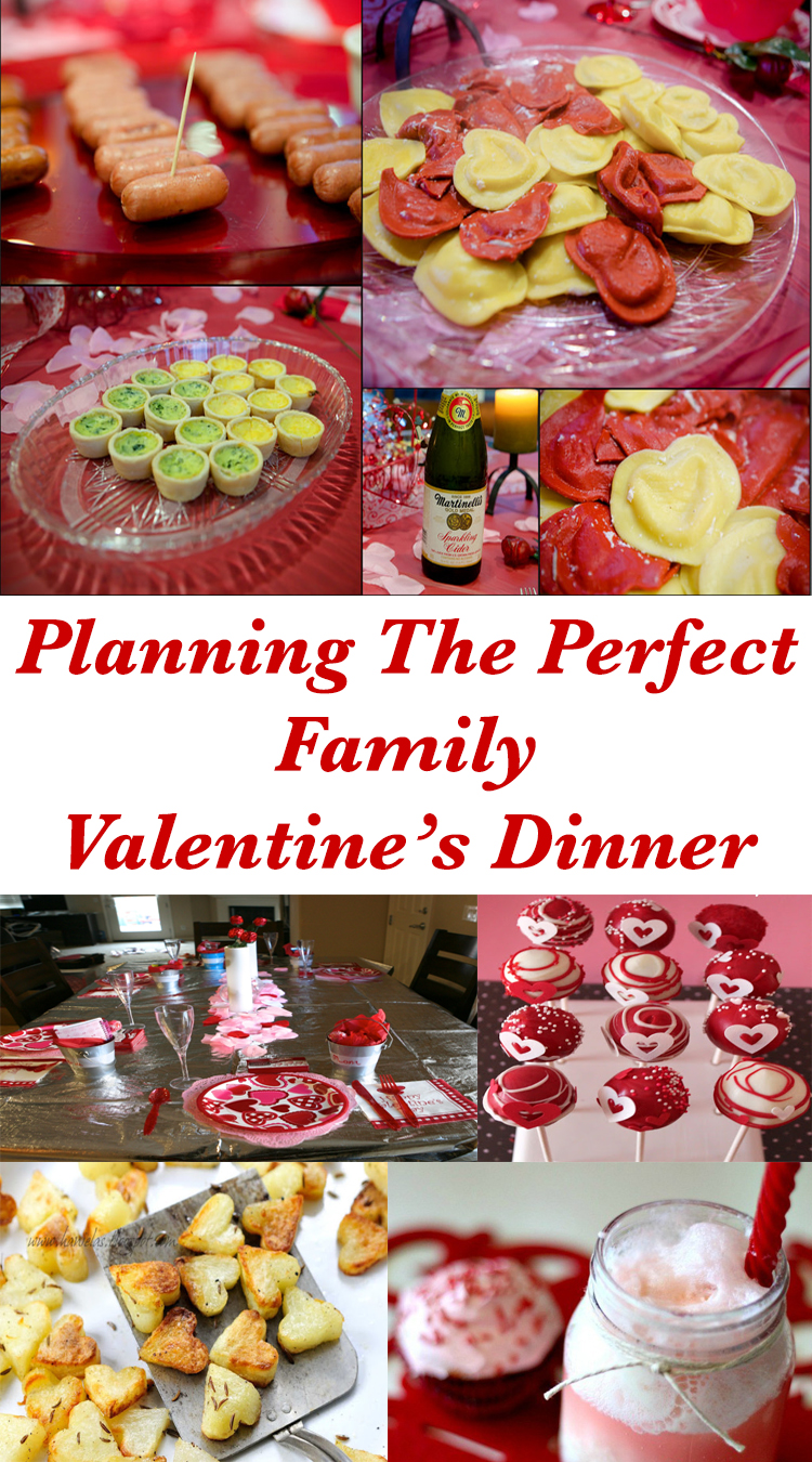 Emmy mom one day at a time planning the perfect family for Valentines dinner for kids