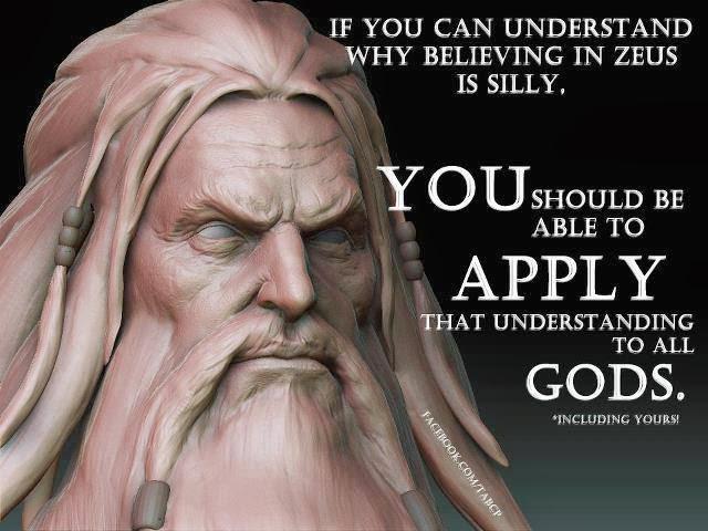 Funny Silly Belief Zeus Gods Meme