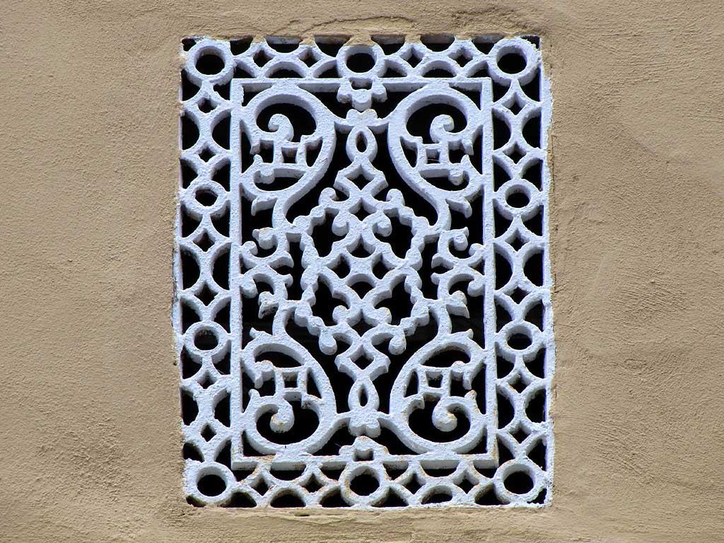 Wall grate, Livorno