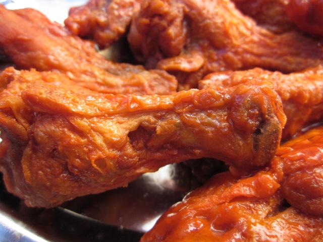 Spicy Fingerlickin Hot Wings