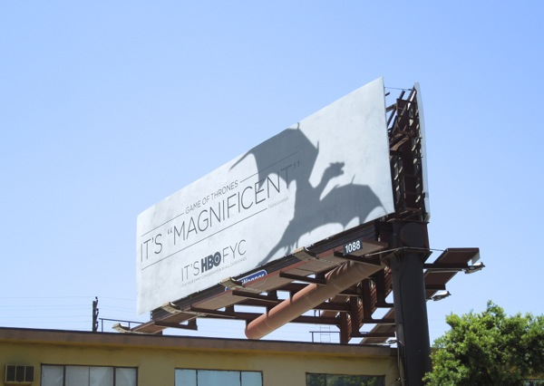 Game Thrones Magnificent HBO Emmy billboard
