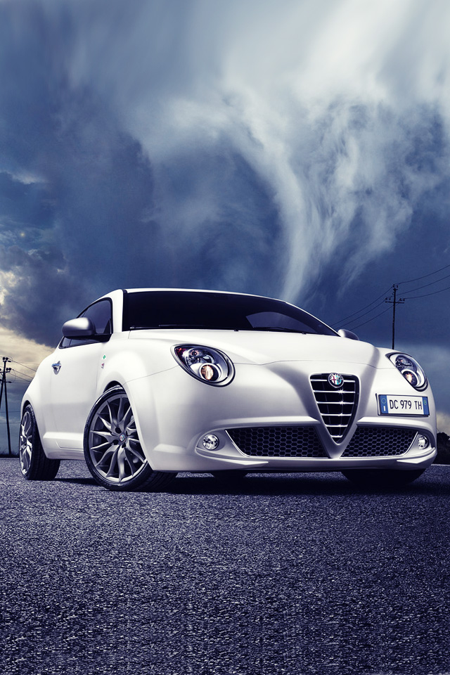 Iphone 5 Wallpapers Apple Iphone 5 Background Alfa Romeo Mito