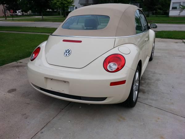 Volkswagen Beetle Convertible >> Used 2006 Volkswagen Beetle Convertible by Owner