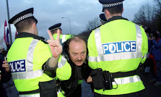Galloway arrested