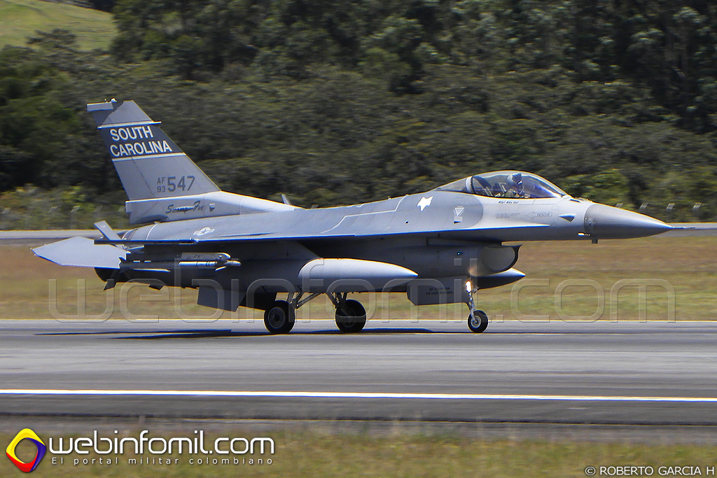 South Carolina Air national Guard F-16