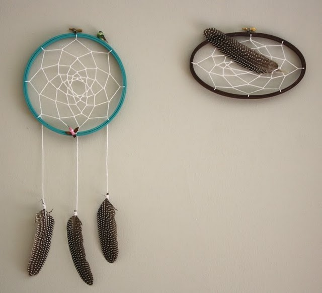 Scattered mind 39 s for Easy homemade dream catchers