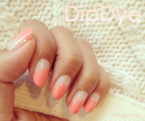 Nail Art Dip Dye Nail