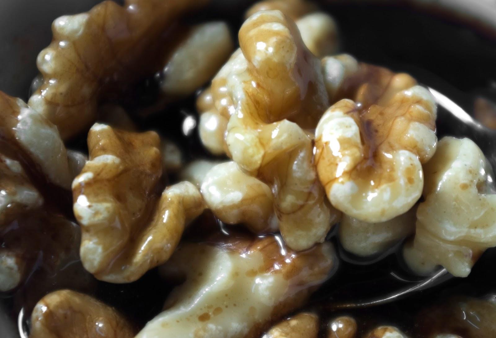 salsa con nueces