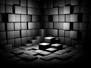 3d Cubes Room HD Wallpaper