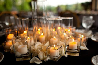 Candle Decorations For Weddings