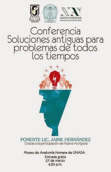 Conferencia: Soluciones Antiguas para Problemas de todos los Tiempos