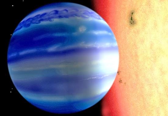 Penemuan Terbaru Adanya Air di Planet Asing