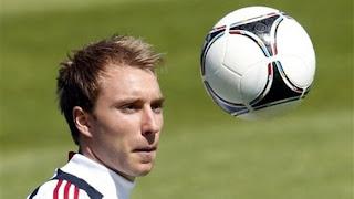 Gelandang Ajax Amsterdan Christian Eriksen