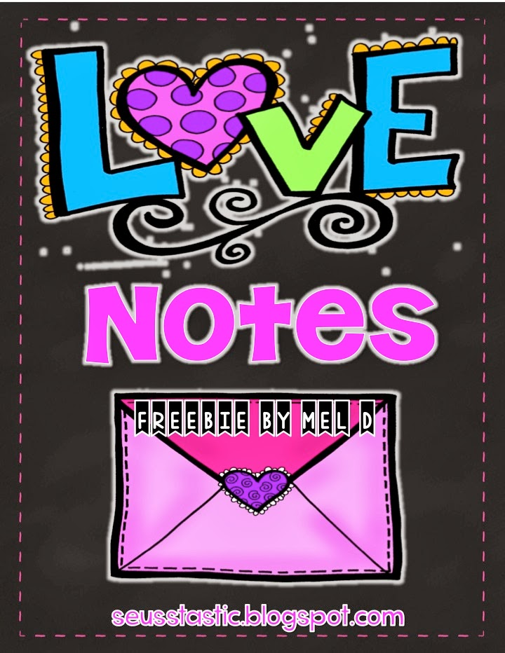 http://www.teacherspayteachers.com/Product/Valentines-Day-Love-Notes-More-FREEBIE-548149