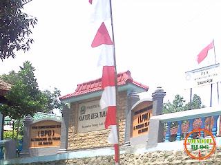 Kantor Desa Tamanarum Parang Magetan