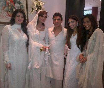Mehreen Syed Wedding images