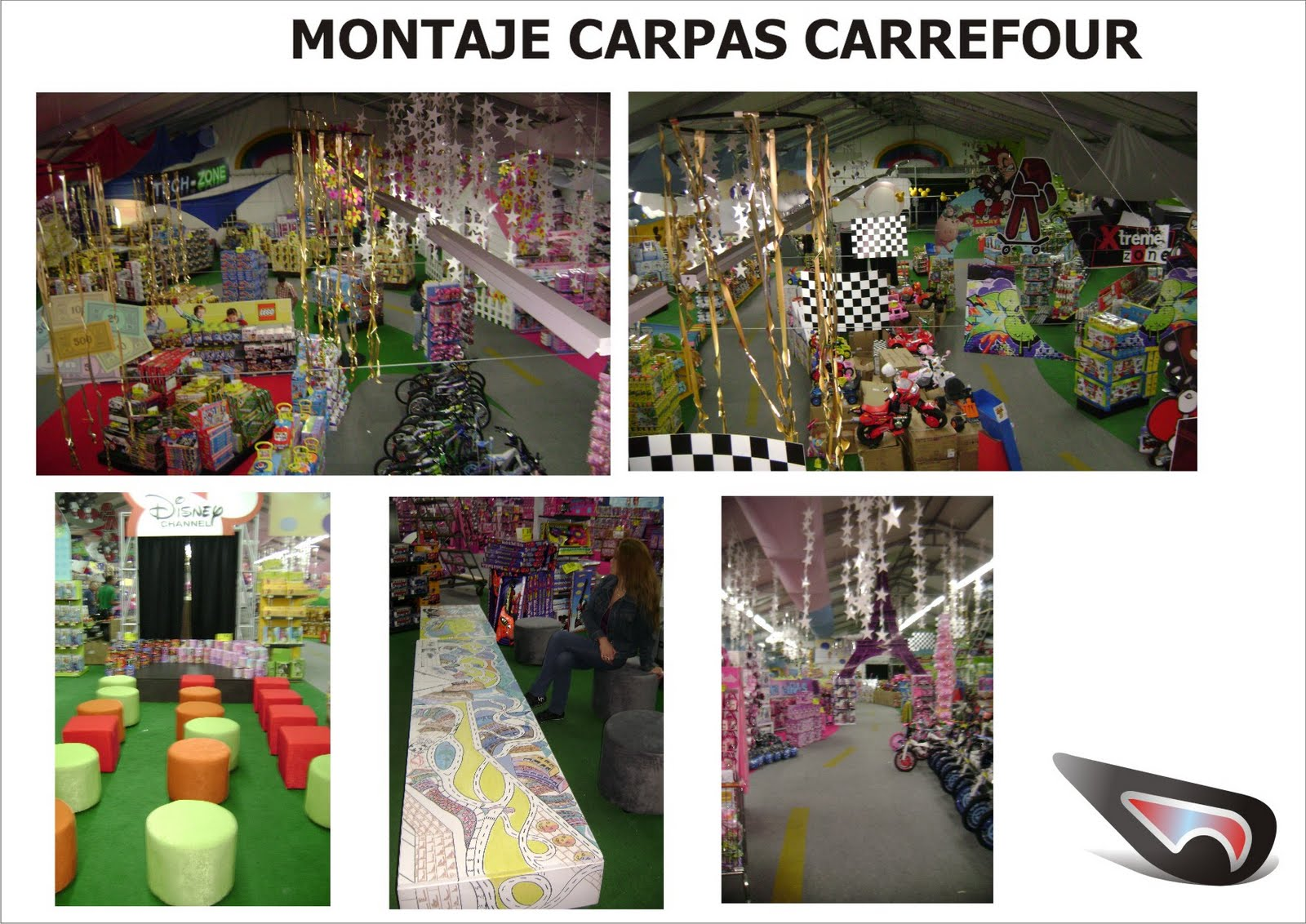 Ddesing montaje carpas carrefour for Carpas jardin carrefour