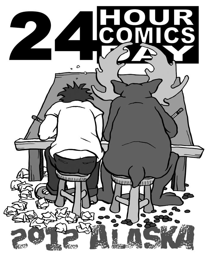 24 Hour Comics Day 2013 Recap 24 Hours Comics Day In