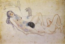 Pablo, il fumetto sugli esordi parigini della vita di Picasso