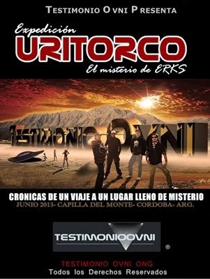 DVD EXPEDICION URITORCO- TESTIMONIO OVNI