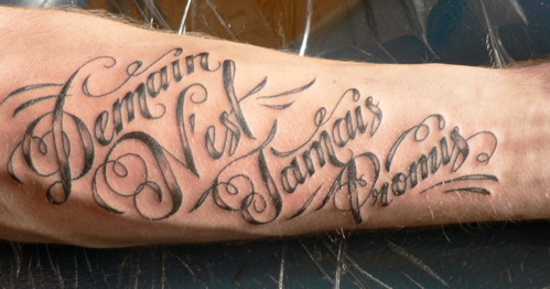 Script Tattoo Fonts