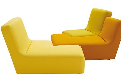 Puedes comprar todos los asientos del mismo color, o puedes comprar tonalidades parecidas para darle un toque divertido y animado a tu casa.