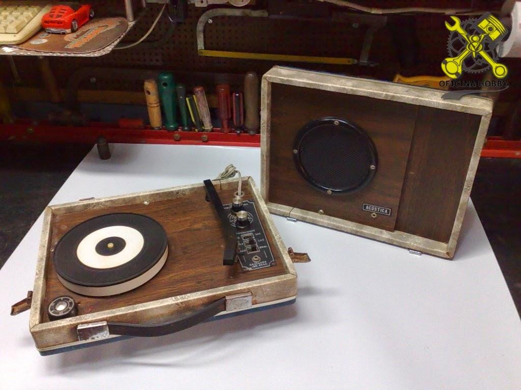 Oficina hobby toca discos port til antigo for Oficina portatil
