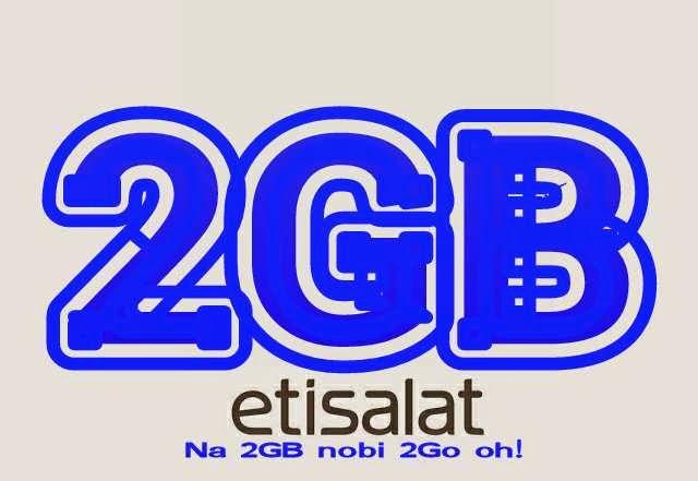 Etisalat 2GB for 2000 cheapest data plan