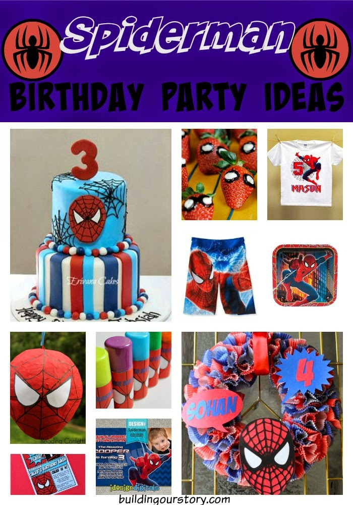 A Spiderman Birthday for Jude JudeTurns5 Building Our Story