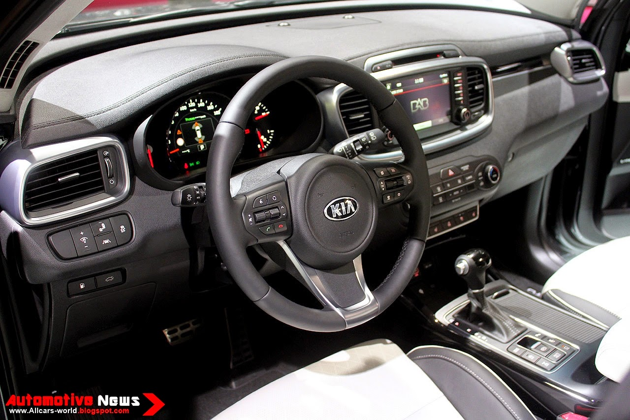 Where the sorento sxl really earns its keep is on the inside in here about 95 percent of the kia is absolutely perfect for the price range