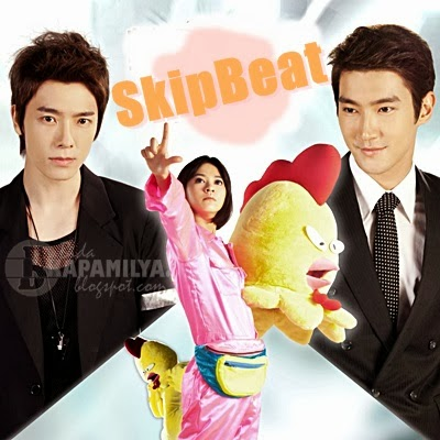 Skip Beat starring Super Junior Siwon and Donghae with Ivy Chen