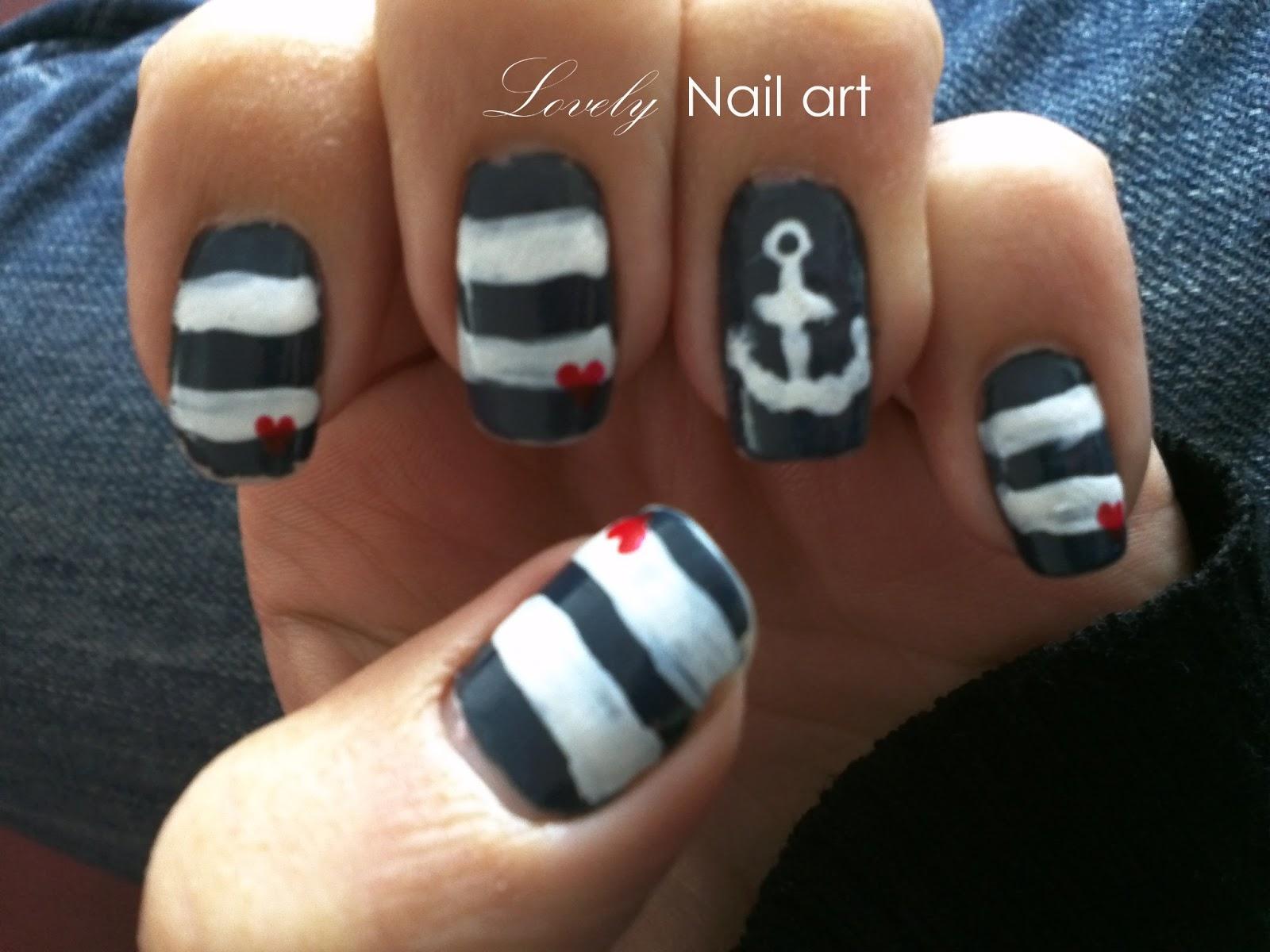Lovely Nail Art: July 2012
