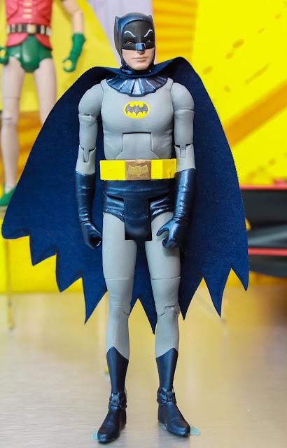Mattel 2013 Toy Fair Display Pictures - Classic 1960's Batman figures - Adam West Batman