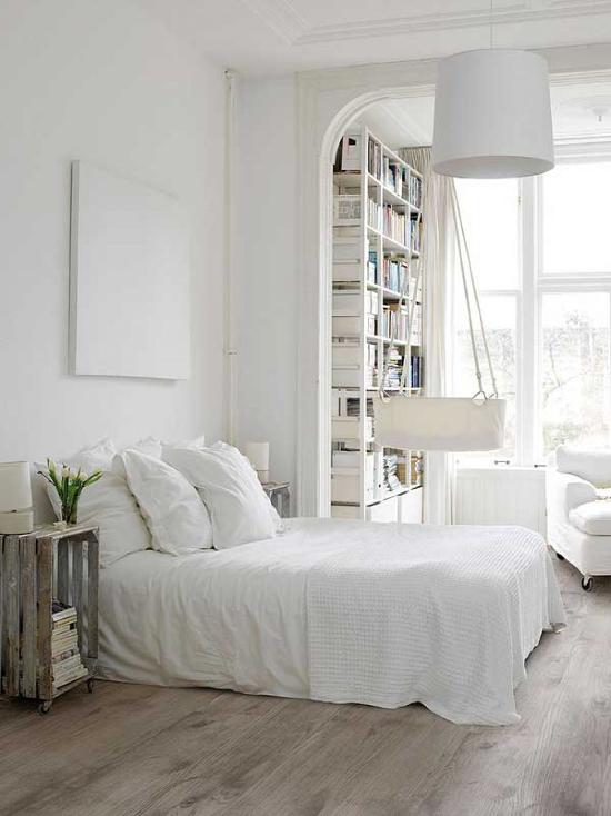 un due tre ilaria: 9 WHITE BEDROOMS INSPIRATIONS