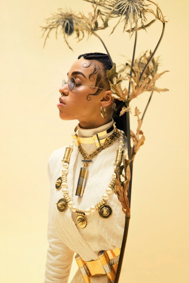 Fashionably Tattooed Fka Twigs