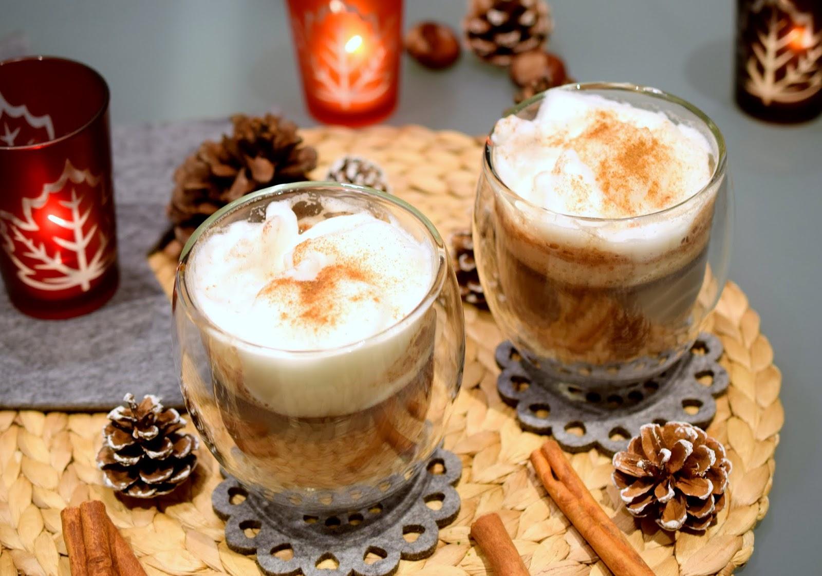 Rezept Schoko Latte Macchiato Winterzauber